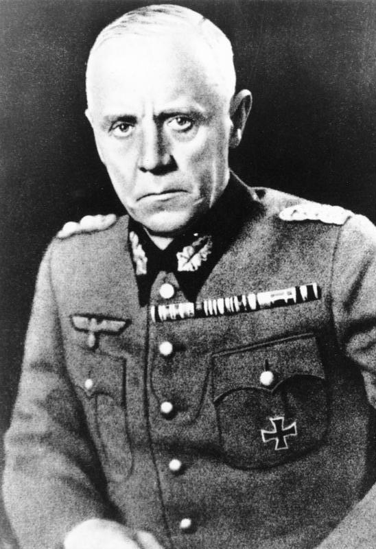 Ludwig Beck, Nazi Almanyası askerlerinden (DY-1880) tarihte bugün