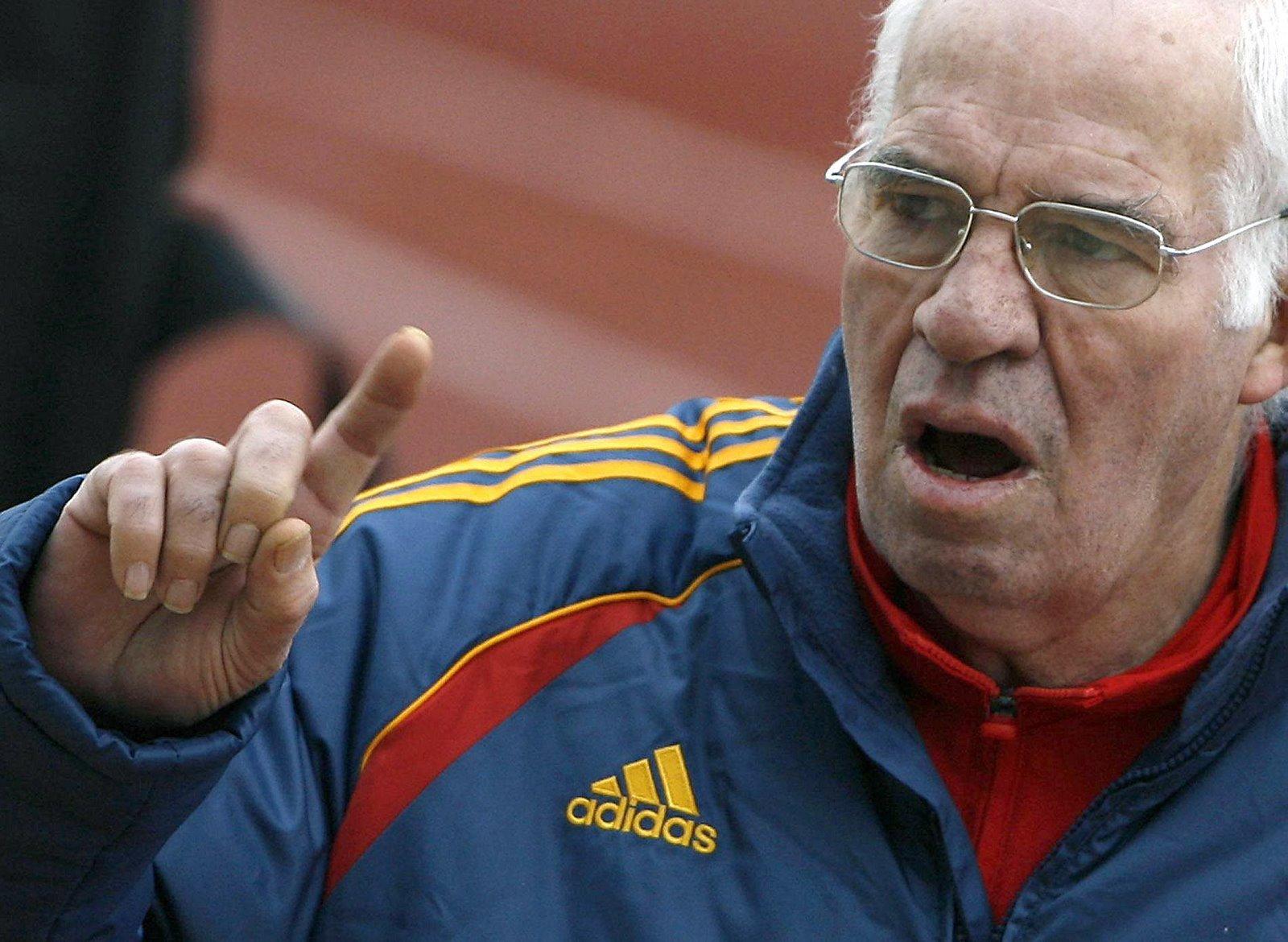Luis Aragones, eski futbolcu ve teknik direktör. tarihte bugün