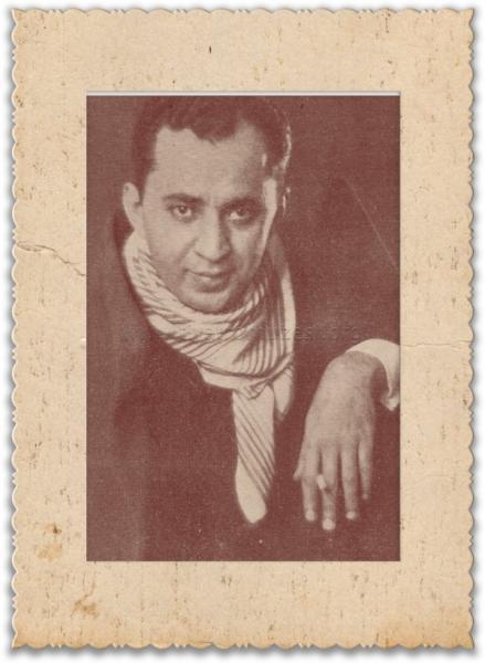 Mahmut Moralı, ޞehir Tiyatroları sanatçısı (DY-1902) tarihte bugün