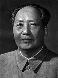 Çin Halk Cumhuriyeti lideri Mao Zedong tarihte bugün