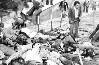 Kahramanmaraş'ta bir sinemanın bombalanmasıyla başlayan olaylar, şiddete ve savaş haline dönüştü. Mezhep ayrımının körüklenmesiyle 26 Aralık'a kadar süren çatışmalar sonrasında 13 ilde sıkıyönetim ilan edildi. 105 kişi öldü, 176 kişi yaralandı.  tarihte bugün