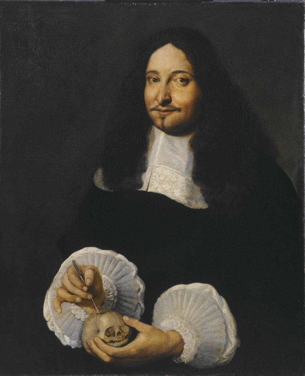 Marcello Malpighi, mikroskobik anatominin kurucusu, modern histoloji ve embriyolojinin öncüsü (DY-1628) tarihte bugün