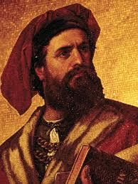Marco Polo, italyan seyyah, gezgin (DY-1254) tarihte bugün