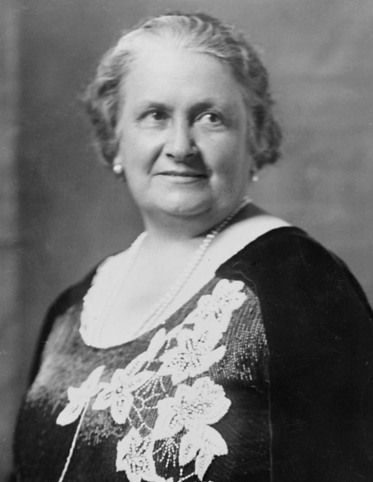 Maria Montessori, italyan e�itimci (�Y-1952) tarihte bug�n
