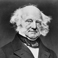 Martin Van Buren, ABD 8. başkanı (DY-1782) tarihte bugün