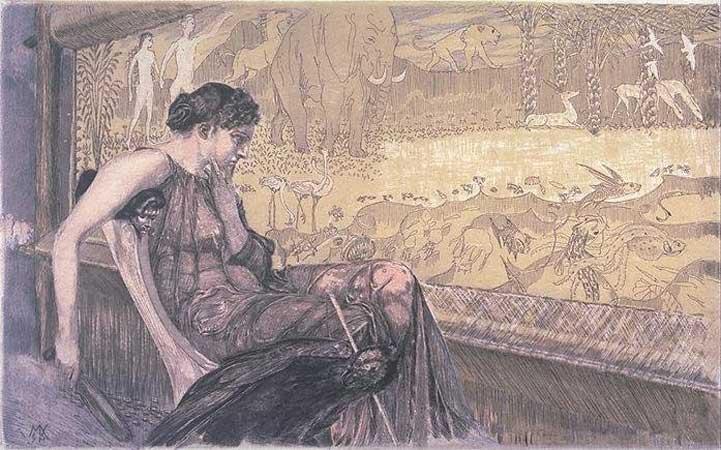 Max Klinger, Alman ressam, heykeltraş (DY-1857) tarihte bugün