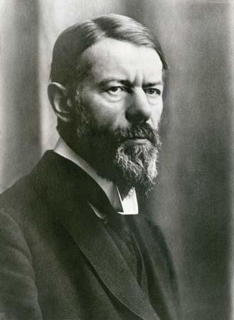 Max Weber, Alman toplum bilimci (ÖY-1920)