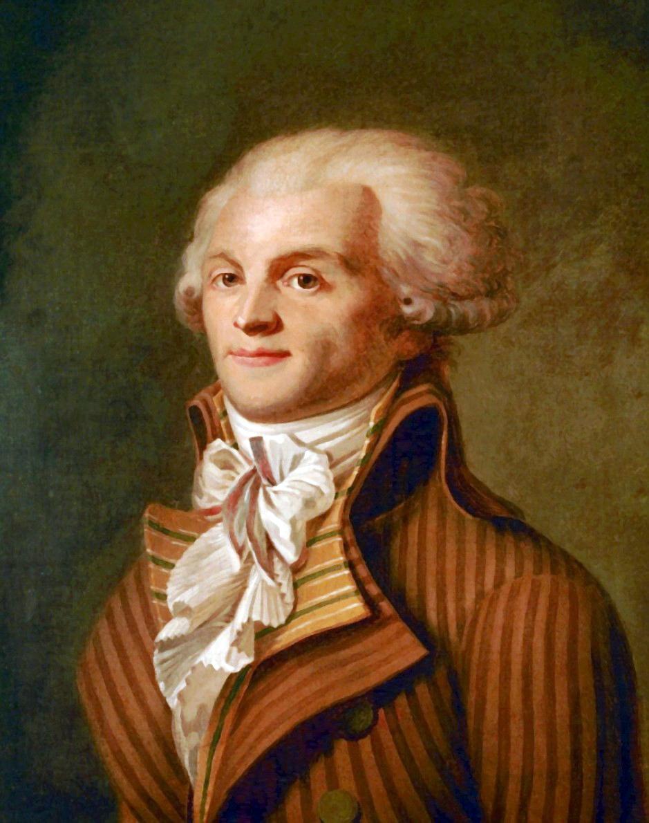 Maximilien Robespierre, Fransız devrimcisi lider (DY-1758) tarihte bugün