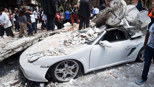 Meksikada Deprem