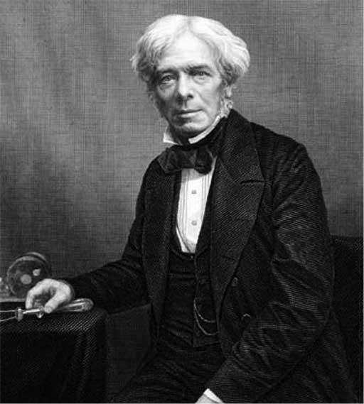Elektriğin ana prensiplerini belirleyip, dinamoyu keşfeden İngiliz fizikçi Michael Faraday. tarihte bugün