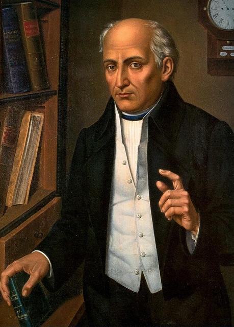 Miguel Hidalgo, Meksikalı bağımsızlık sembollerinden, Katolik papaz (DY-1753) tarihte bugün