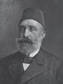 Mithat Paşa, Osmanlı devlet adamı (ÖY-1884) tarihte bugün