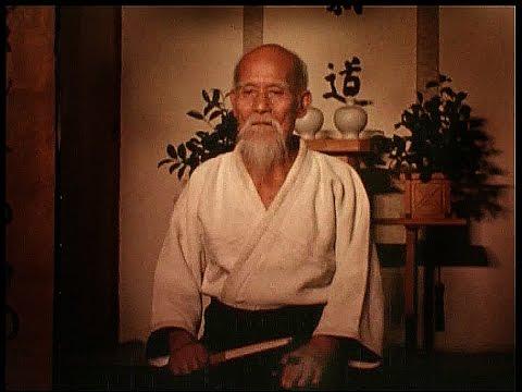 Morihei Ueshiba, Japon dövüş sanatı üstadı, Aikidonun kurucusu (ÖY-1969) tarihte bugün