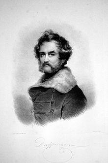 Moritz Daffinger, Avusturyalı ressam sanatçı (DY-1790) tarihte bugün