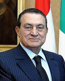 Muhammed Hüsnü Mübarek, Mısır Cumhurbaşkanı tarihte bugün
