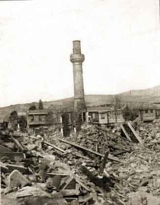 Mürefte Şarköy Tekirdağ Depremi