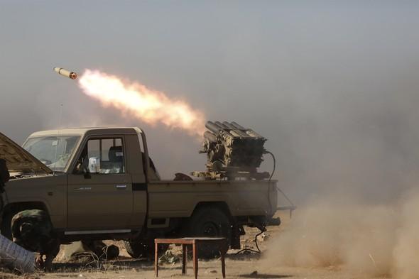 Musul'un terör örgütü DEAŞ'ın elinden alınması için planlanan büyük harekat başladı. 30 bin askeri güç bölgede. tarihte bugün