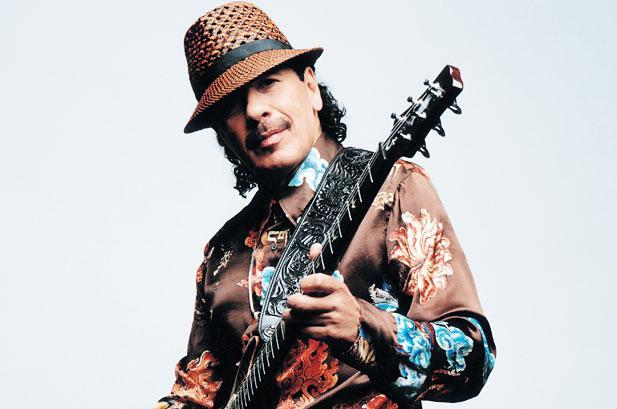 Carlos Santana, Meksikalı müzisyen tarihte bugün