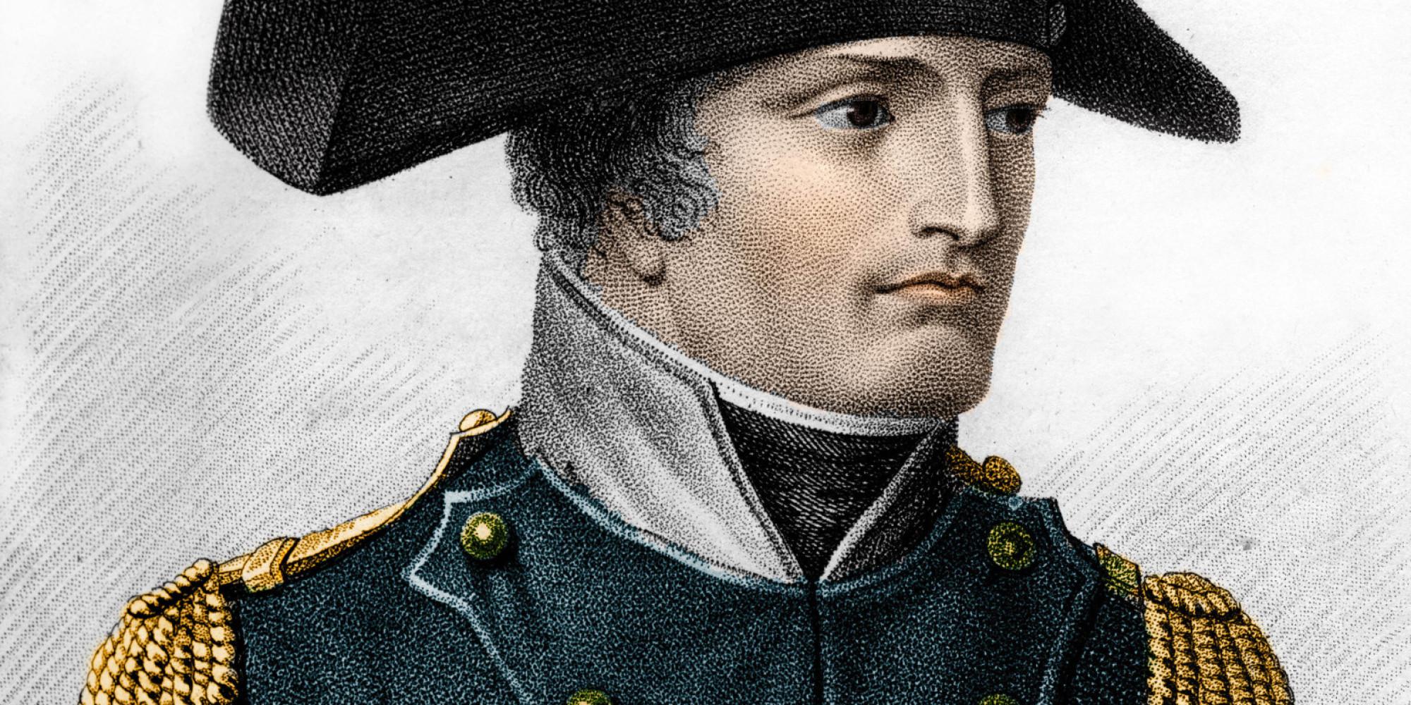 Fransa İmparatoru Napoleon Bonaparte. tarihte bugün