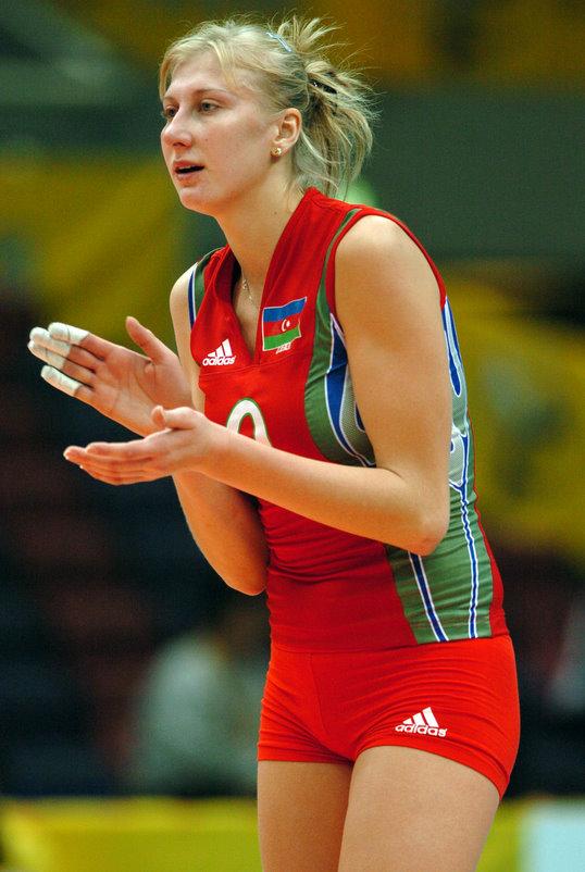 Natalya Mammadova, Azeri voleybolcu tarihte bugün