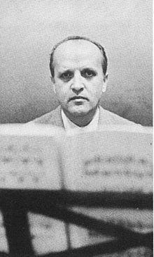 Nino Rota, italyan film müziği bestecisi. Baba filminin müziğini de yapmıştır (DY-1911) tarihte bugün