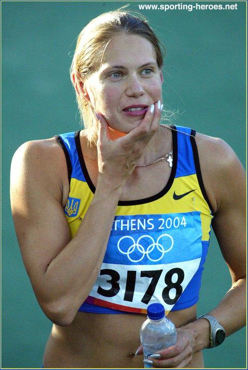 Olena Krasovska, Ukraynalı atlet tarihte bugün