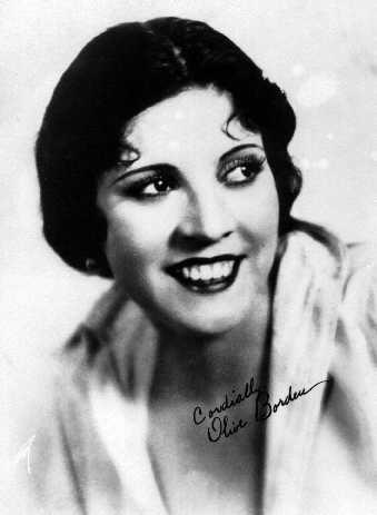 Olive Borden, sinema oyuncusu (DY-1906) tarihte bugün