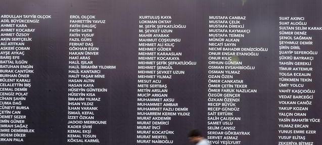 15 Temmuz Darbe Girişiminde 249 vatandaşımız şehit olmuştur. Türkiye sizleri unutmayacak. tarihte bugün