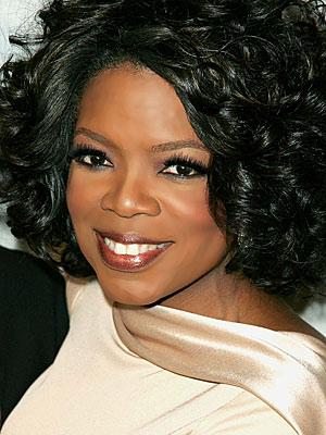 Oprah Winfrey, Amerikalı sunucu ve oyuncu tarihte bugün