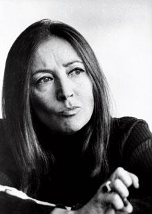 Oriana Fallaci, italyan gazeteci,yazar (ÖY-2006) tarihte bugün