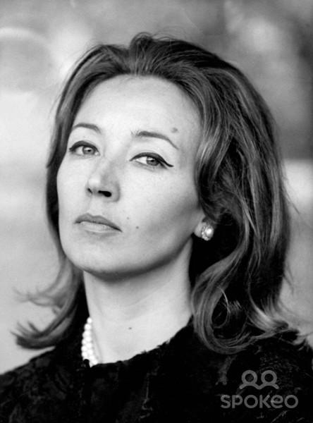 Oriana Fallaci, italyalı gazeteci ve yazar (DY-1929) tarihte bugün