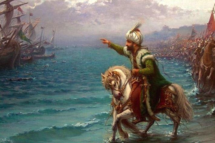 Fatih Sultan Mehmet'in donanması İstanbul sularına geldi.  tarihte bugün