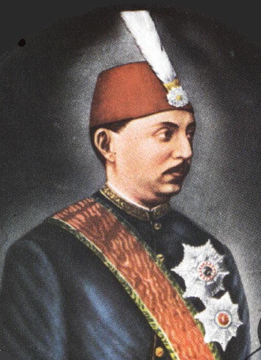 V. Murat, Osmanlı padişahı (DY-1840) tarihte bugün