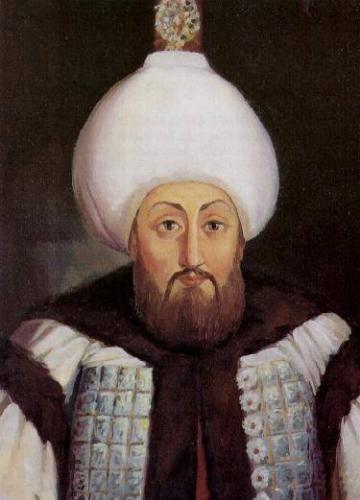 Osmanlı Sultanı III. Mustafa. Başlattığı idari ve askeri reformlarla Osmanlı İmparatorluğunun gerilemesini durdurmaya çalışmıştır. tarihte bugün
