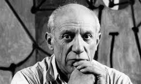 Pablo Picasso, İspanyol ressam, kübizmin öncüsü (Doğum Yılı,1881)  tarihte bugün