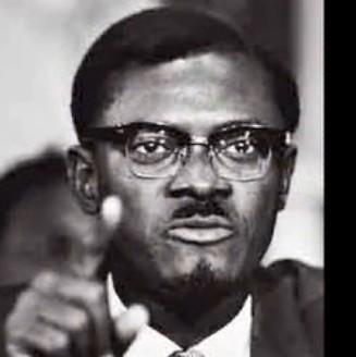 Kongo Ba��ms�zl�k hareketinin �nderi ve Demokratik Kongo Cumhuriyetinin ilk ba�bakan�. Patrice Lumumba.