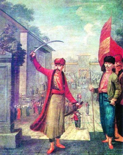 Patrona Halil, Patrona Halil isyanı lideri tarihte bugün