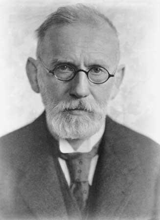 Paul Ehrlich, Alman bilim adamı Nobel Fizyoloji veya Tıp Ödülü sahibi (DY-1854) tarihte bugün