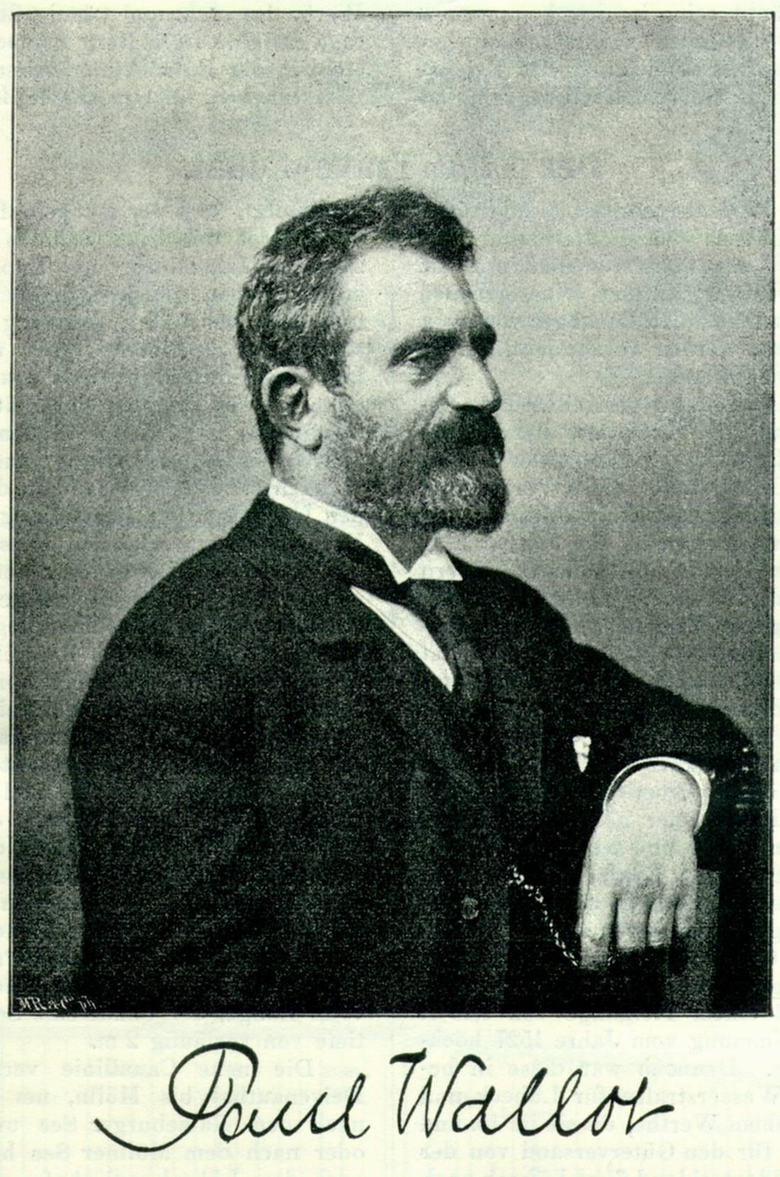 Paul Wallot, Alman mimar (�Y-1912) tarihte bug�n