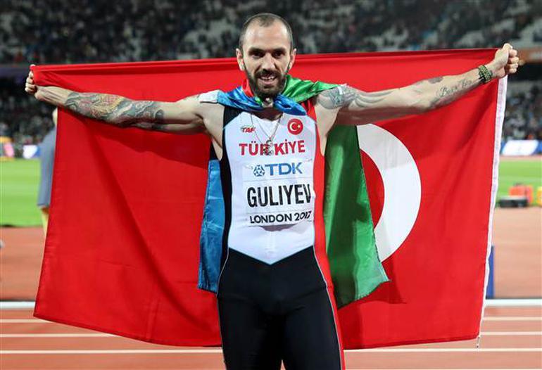 Londra'da düzenlenen 2017 Dünya Şampiyonası'nda 200 metre final yarışına çıkan Ramil Guliyev Dünya Şampiyonu oldu. 20.09'luk derecesiyle Türkiye'ye erkekler 200 metrede ilk altın madalyasını kazandırdı. tarihte bugün