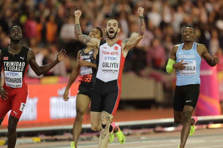 Ramil Guliyev Kimdir Dünya Atletizm Şampiyonu