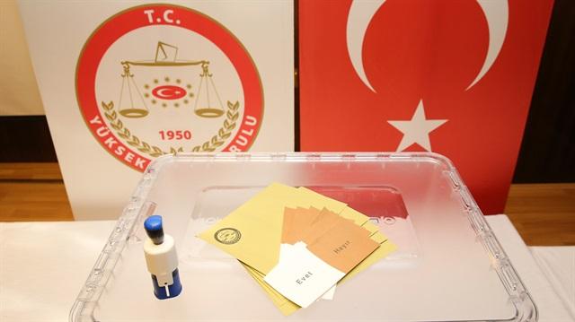 Refarandum Anayasa Cumhurbaşkanlığı Hükümet Sistemi Oylaması