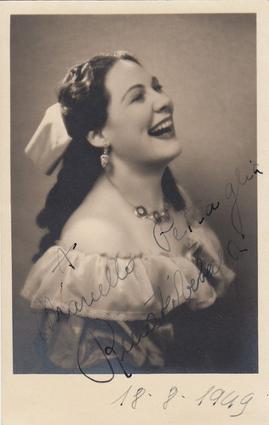 Renata Tebaldi, italyan soprano (ÖY-2004) tarihte bugün