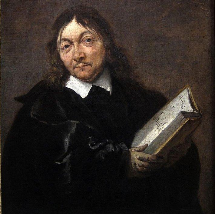 Rene Descartes, bilim adamı. Ünlü Fransız filozof (DY-1596) tarihte bugün