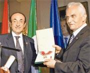 İtalya Mehmet Dülger Yaşar Yakış Devlet Nişanı