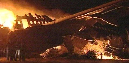 Sudan'da bir yolcu uçağının Hartum havaalanına indikten sonra alev alması sonucu en az 100 yolcunun öldüğü bildirildi. tarihte bugün
