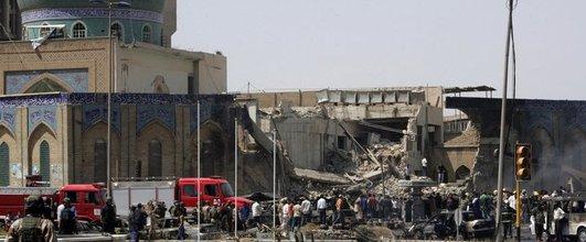 Irak'ın başkenti Bağdat'ta bir Şii camisi yakınında düzenlenen saldırıda can 78 kişi öldü, 218 kişi yaralandı. tarihte bugün