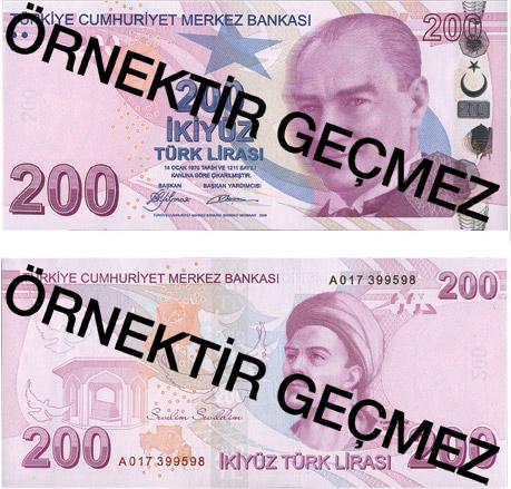 2005'te 6 sıfır atıldıktan sonra YTL adını alan Türk Lirası geri geliyor. TL banknotlar, yeni tasarımı ve gelişmiş güvenlik önlemleriyle kullanıma sunuldu. tarihte bugün