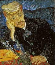 Vincent Van Gogh'un resmi