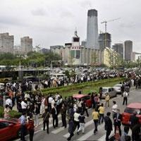 Çin'in Sichuan bölgesinde 7,5 büyüklüğünde deprem meydana geldi. Başkent Pekin, komşu Tayland ve Vietnam'da yüksek binalar dakikalarca sallandı. tarihte bugün